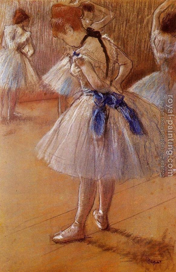 Edgar Degas : The Dance Studio